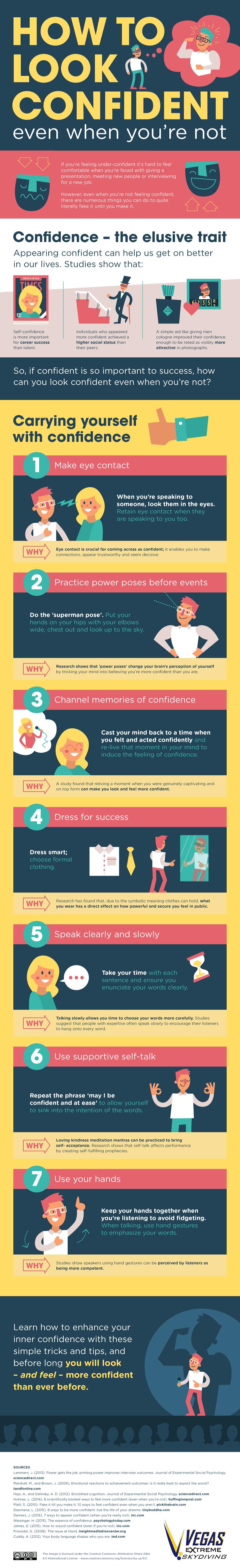 confident infographic