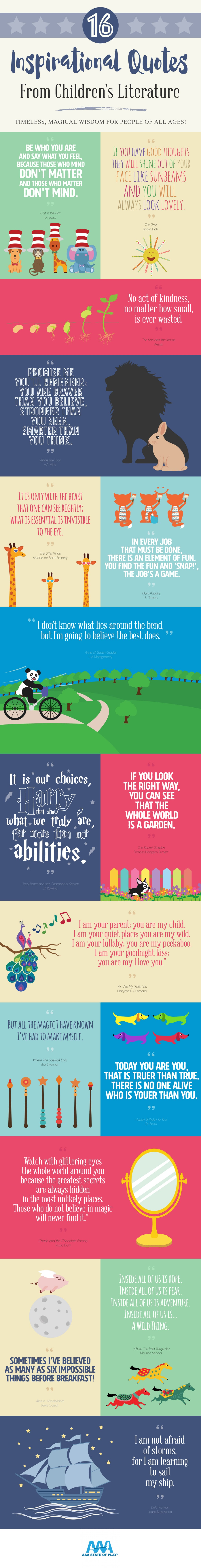 inspirational quotes infographics