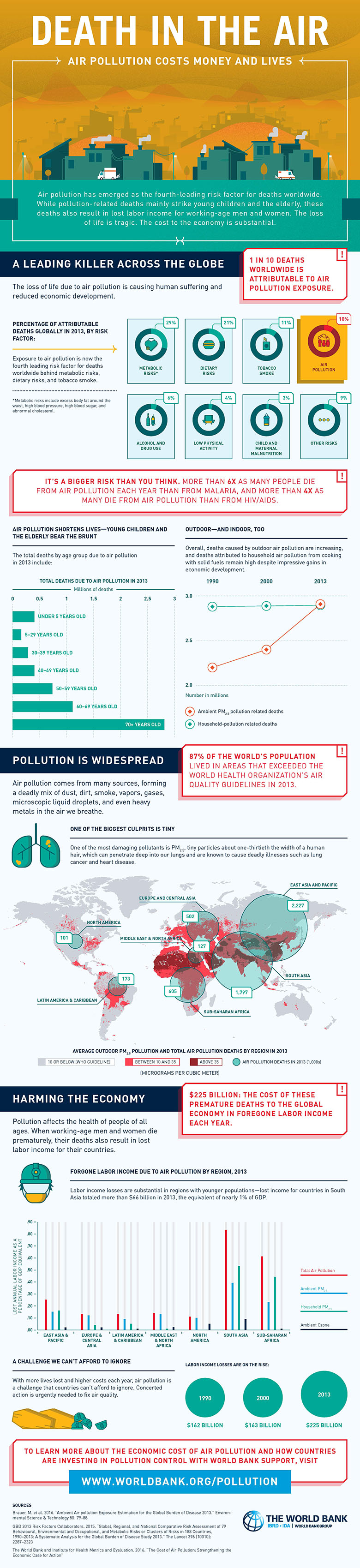 pollution infographic