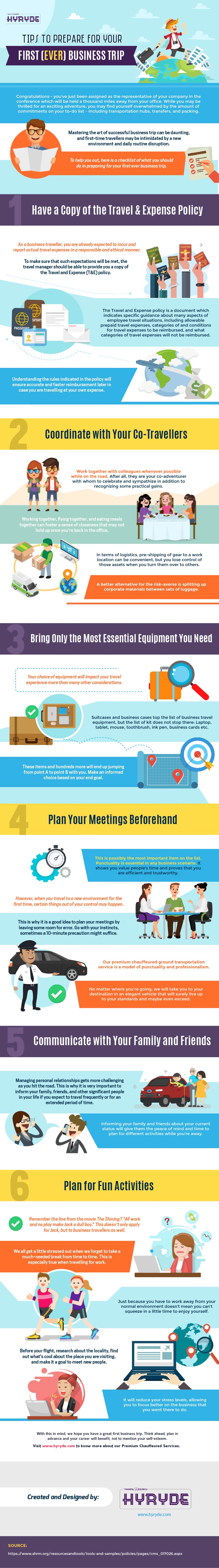 Tips to Prepare for Your First Business Trip