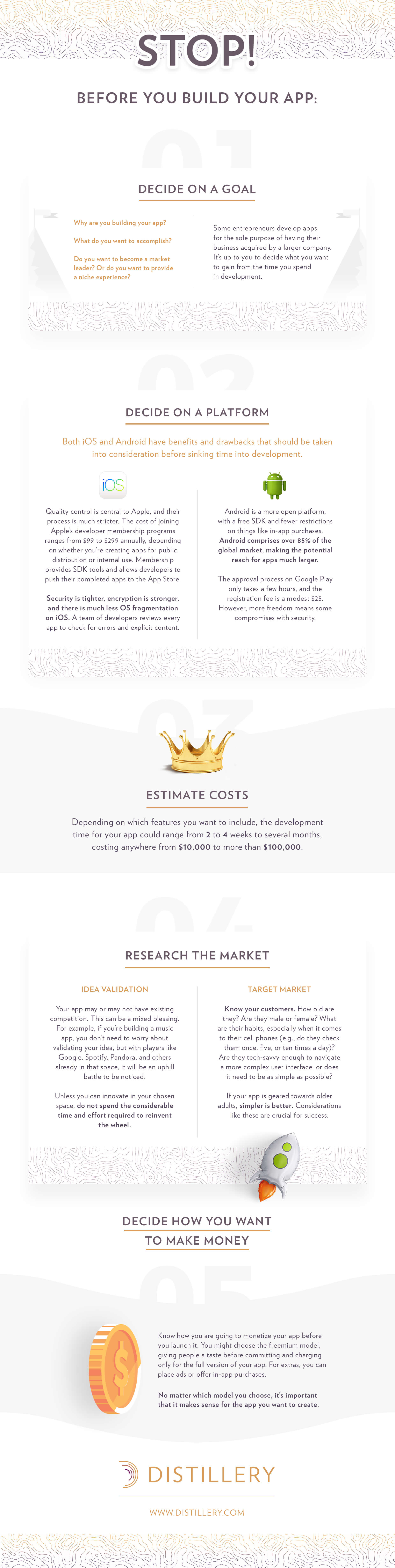 Before you build your App Infographic