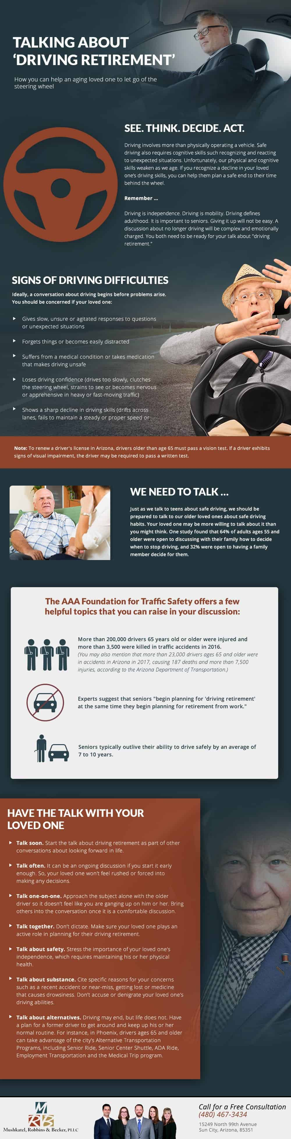 Driving Retirement Infographic
