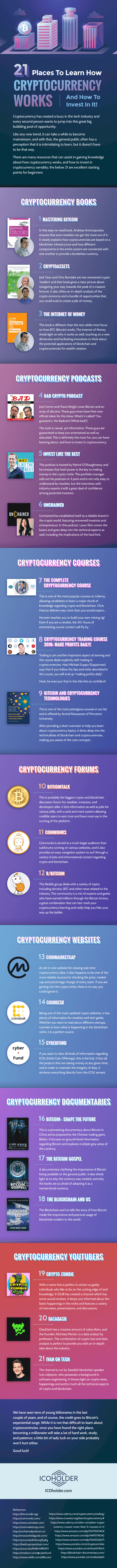 How Cryptocurrency Works Infographic