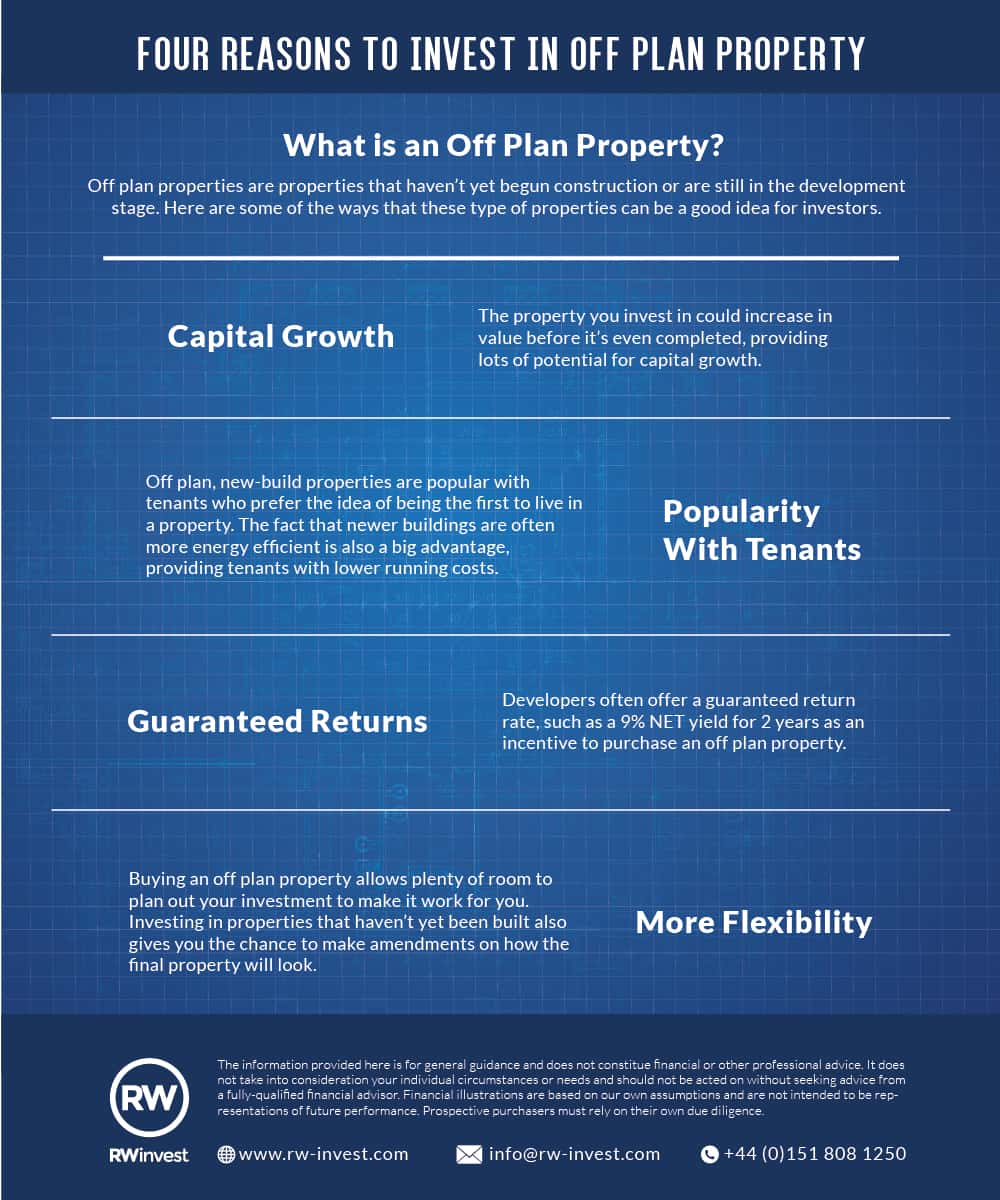 4 Reasons to invest in off plan property