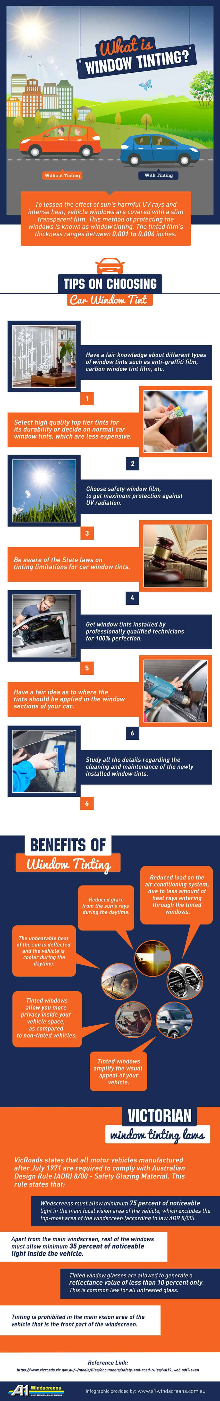 Car Window Tinting Infographic