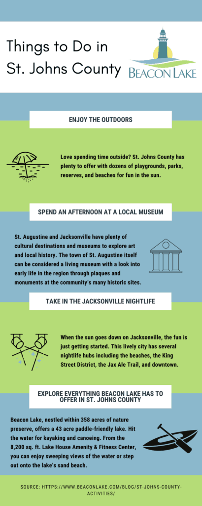 Things to Do in St. Johns County