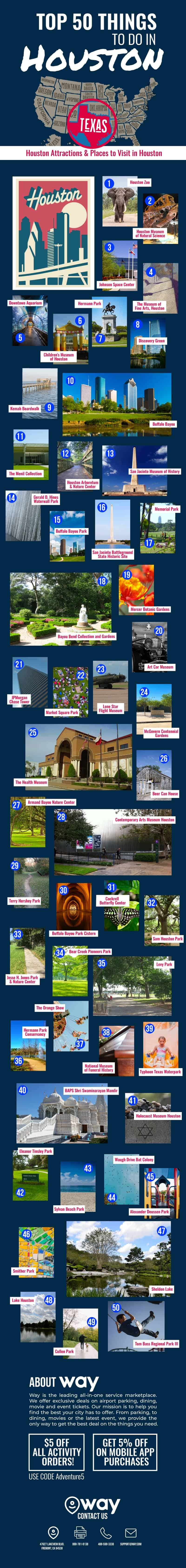 50 Things to Do in Houston