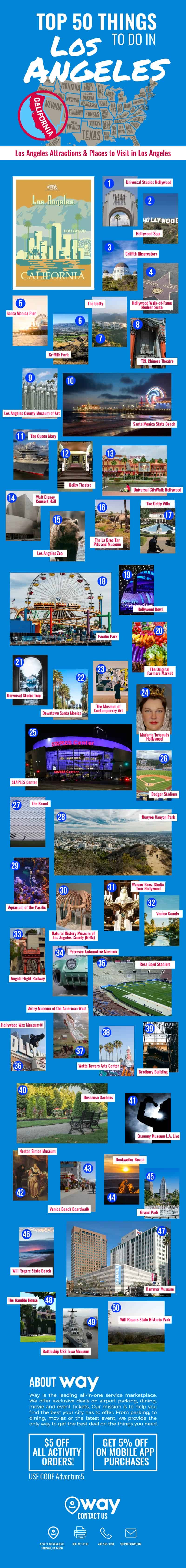 50 Things to Do in Los Angeles
