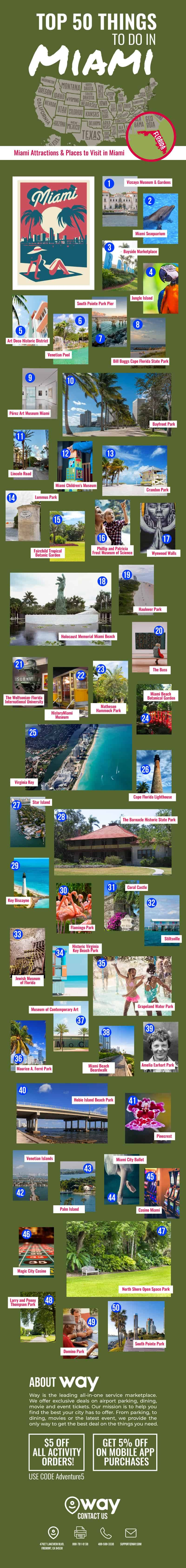 50 Things to Do in Miami