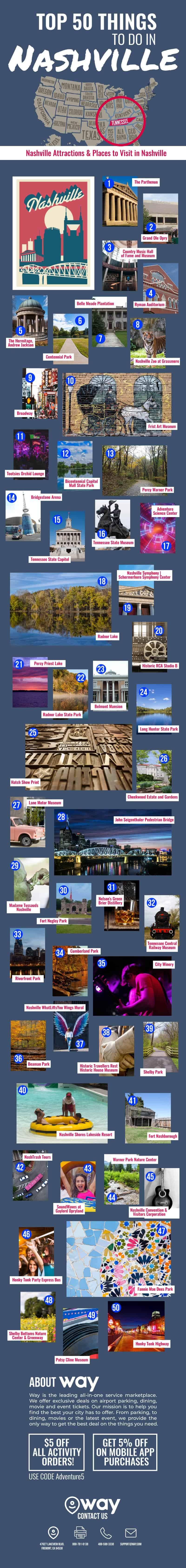 50 Things to Do in Nashville