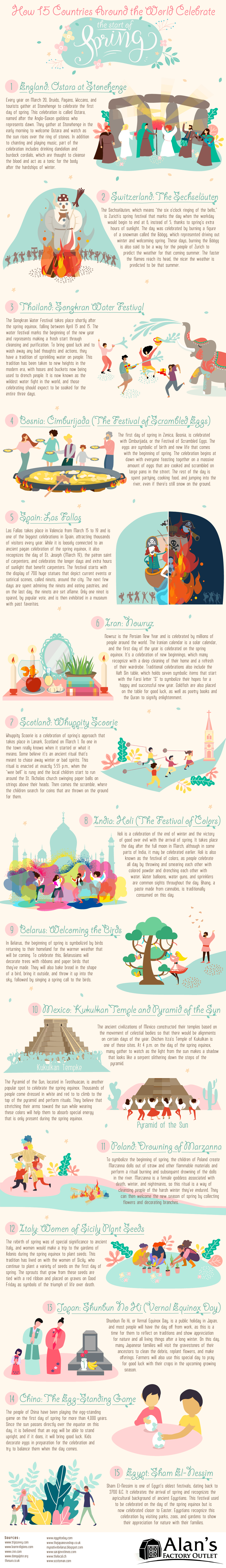 How Different Cultures Around the World Celebrate the Start of Spring