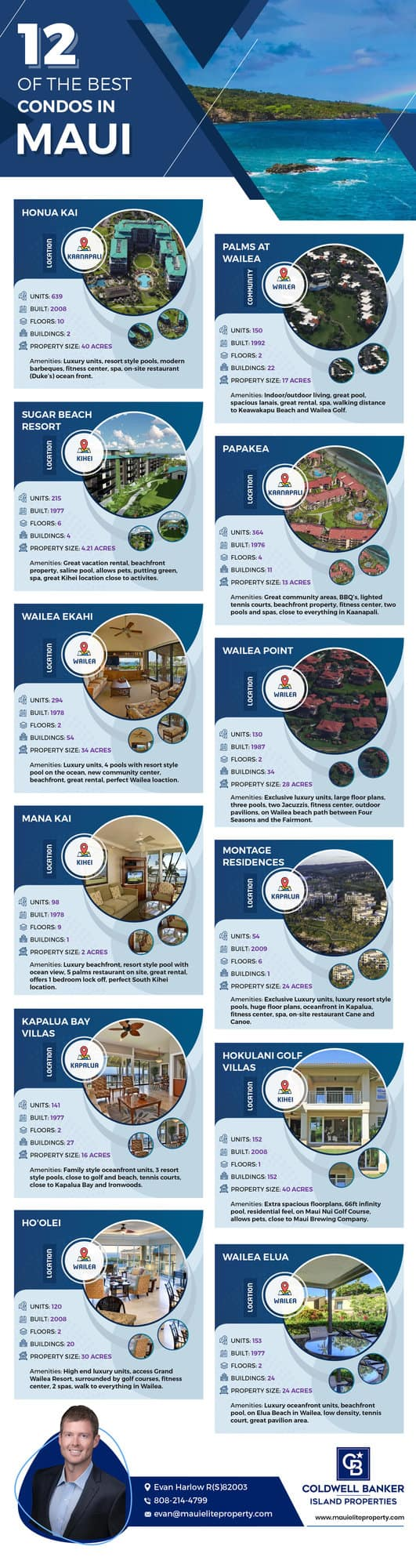 12 of the Best Condos For Sale on Maui
