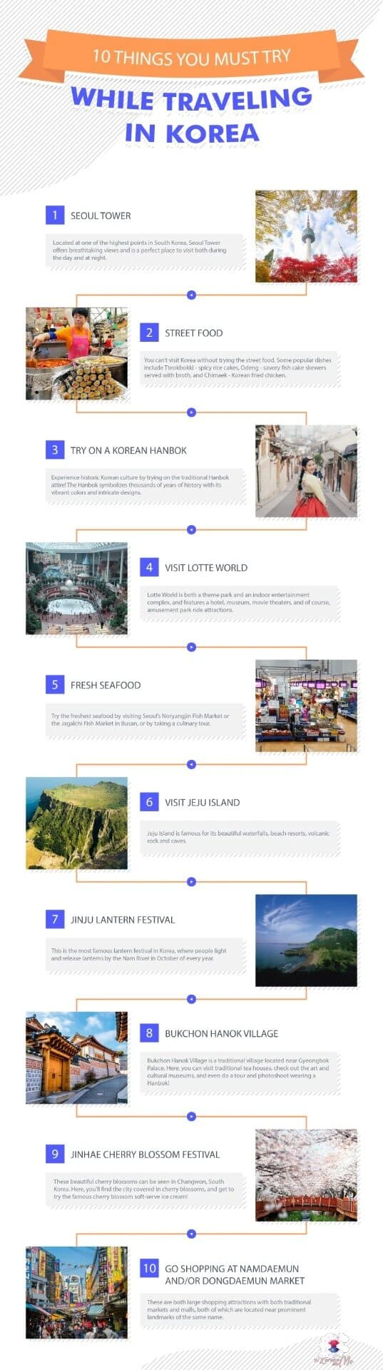 10 Things You Must Try While Traveling in Korea