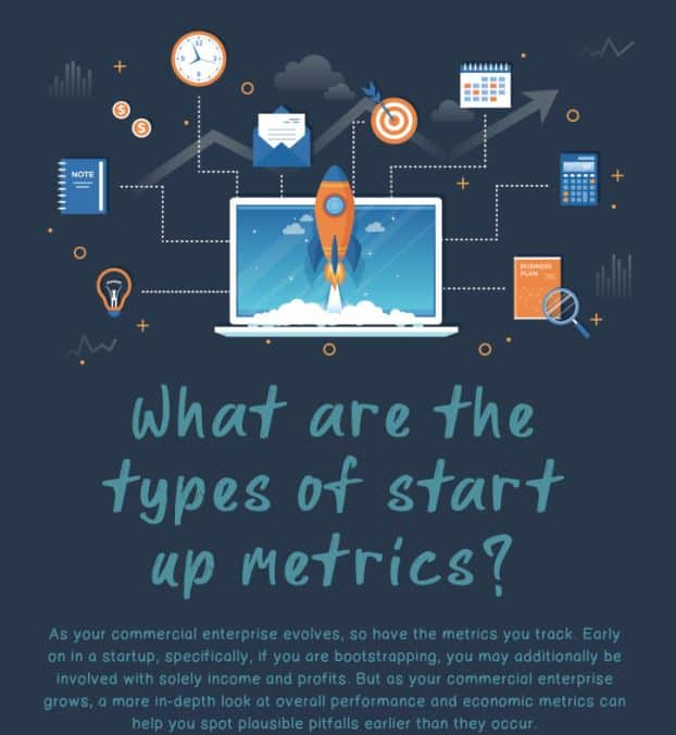 What Are The Types Of Start Up Metrics infographic