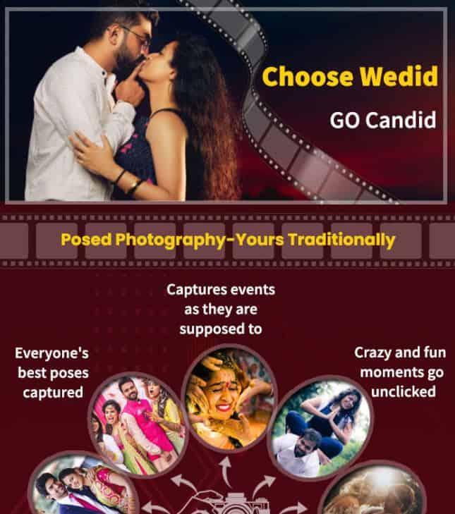 Choose WeDid - Go Candid infographic