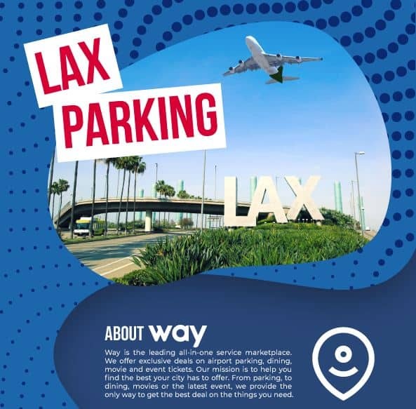 lax parking infographic