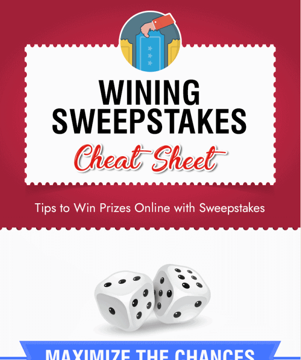 How to Maximize Your Chances of Winning a Sweepstake infographic