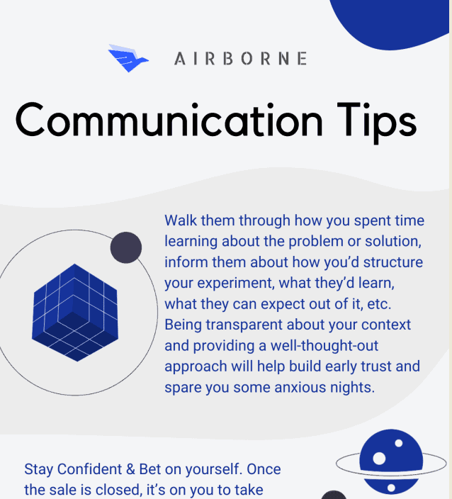 Communication Tips for Discovery Call with Your Clients infographic