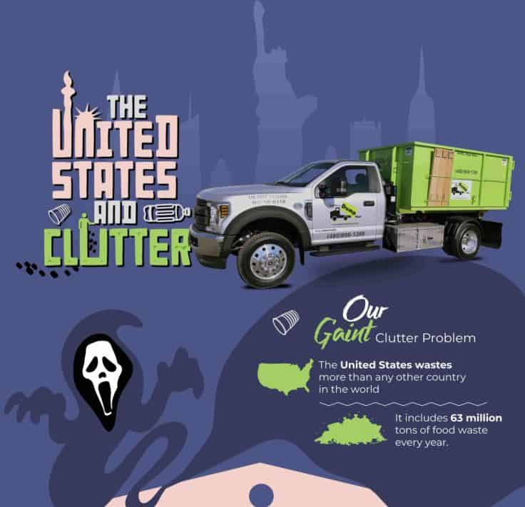 Declutter and Organize Your Home - Bin There Dump That infographic