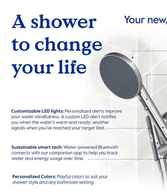 Hai Smart Shower Head infographic