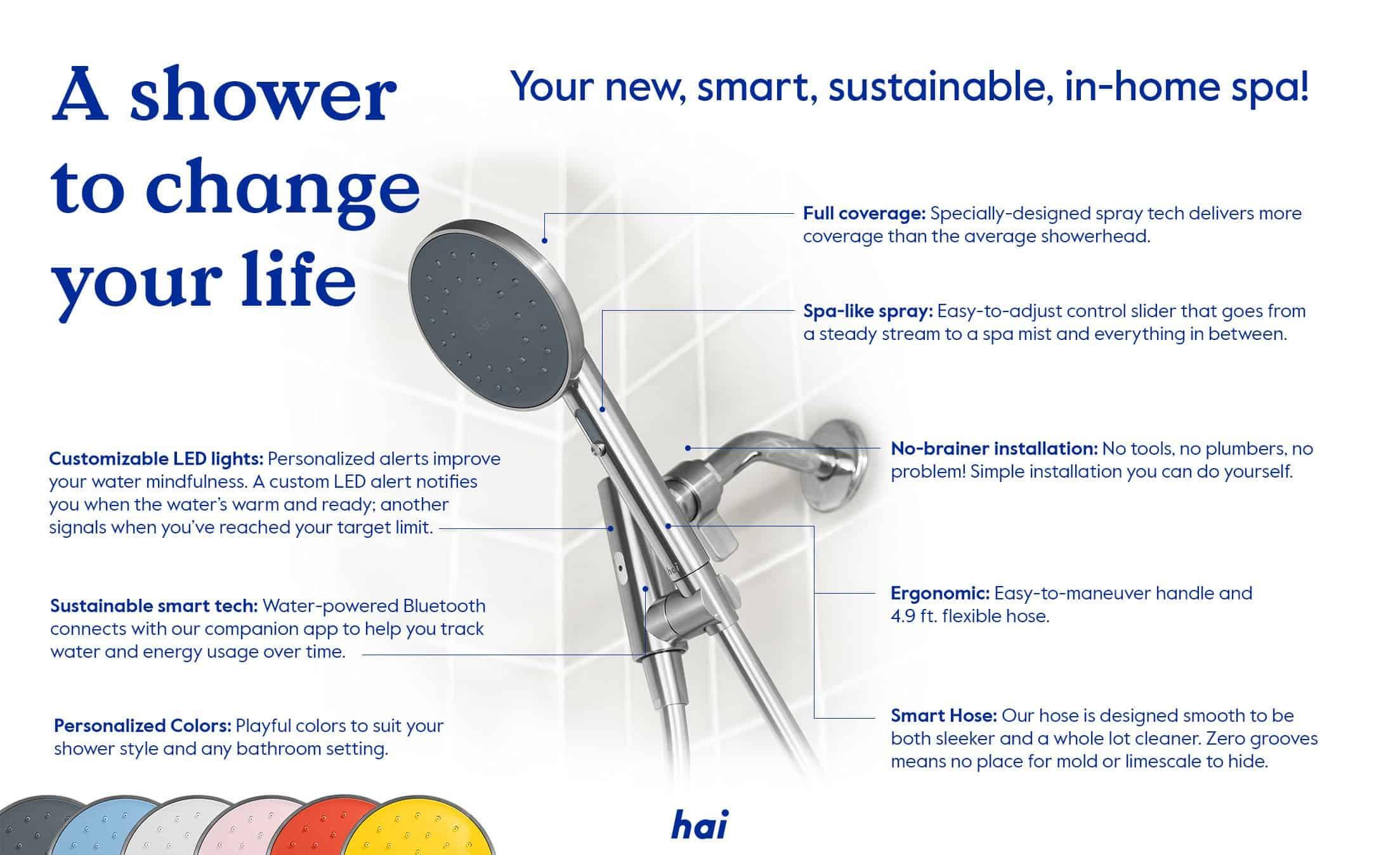 Hai Smart Shower Head