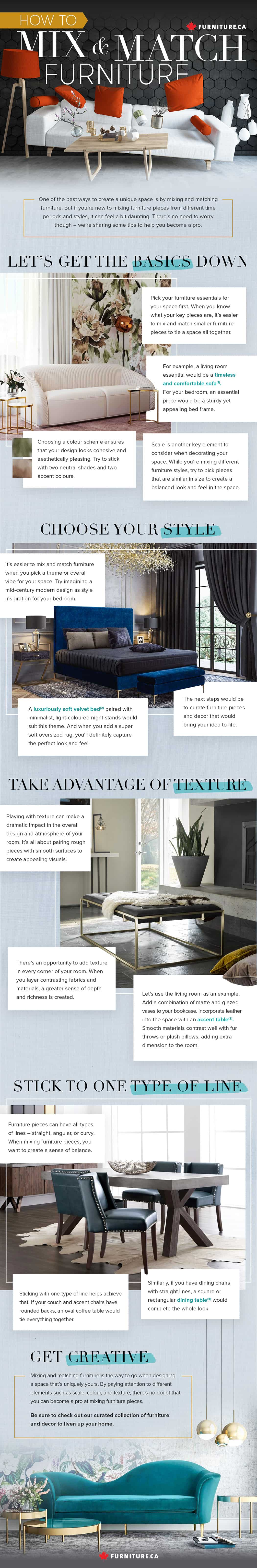 How to Mix and Match Furniture