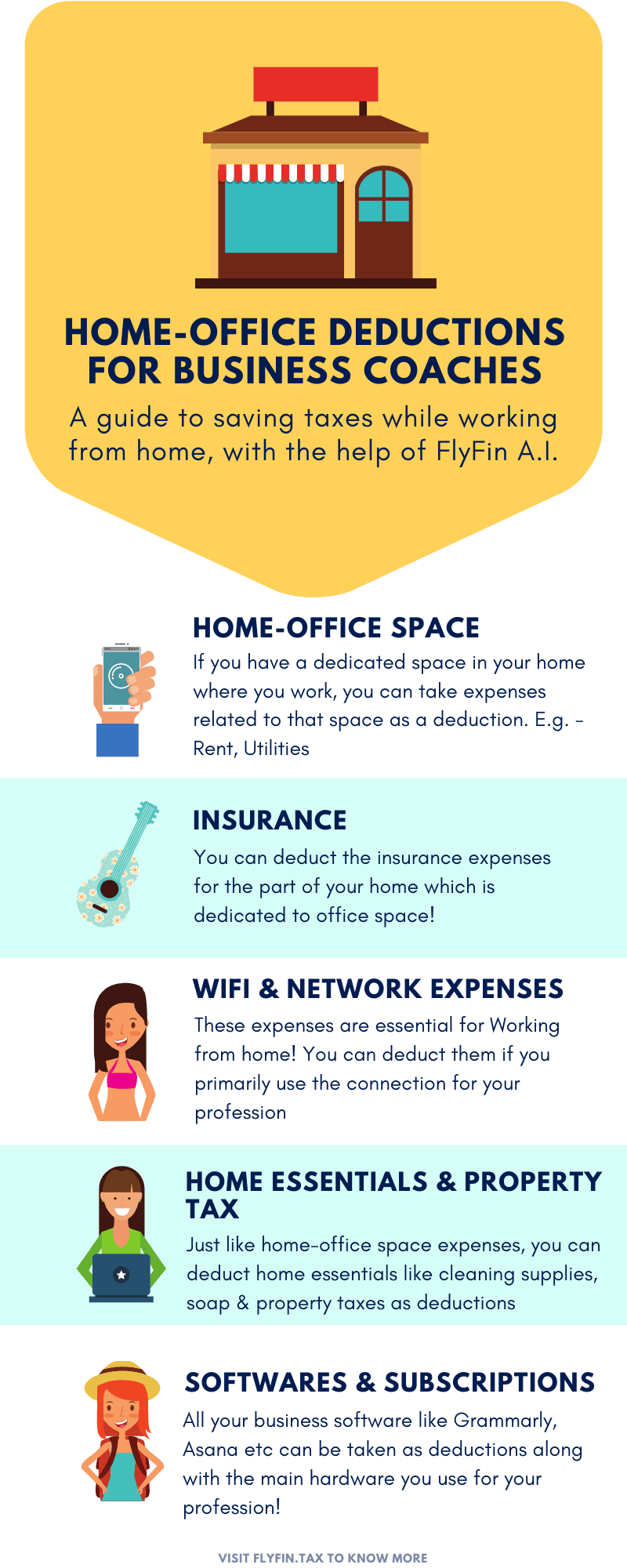 Home Office Deductions for Business coaches